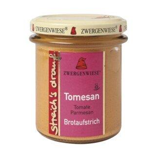Brotaufstrich - Tomate Parmesan Bio - Zwergenwiese - 160 g/