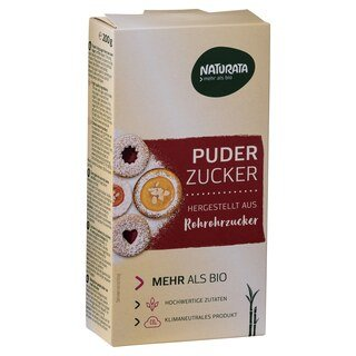Puderzucker bio - Naturata - 200 g