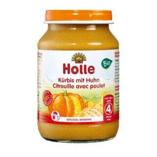Kürbis mit Huhn Bio - Holle - 190 g/