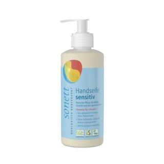 Handseife sensitiv im Spender - Sonett - 300 ml/