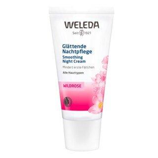 Glättende Nachtpflege Wildrose - Weleda