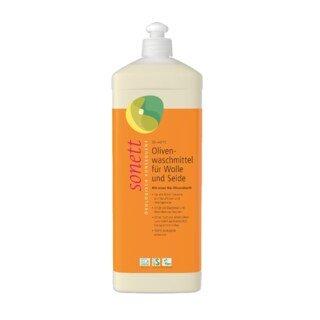 Olivenwaschmittel für Wolle und Seide 20 °C- 40 °C - Sonett - 1 Liter/