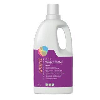 Waschmittel flüssig - Lavendel 30 °C  95°C - Sonett - 2 Liter/