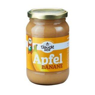 Apfel-Bananenmark ungesüßt Bio - Bauckhof - 360 g/