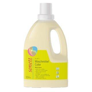 Waschmittel Color Mint & Lemon - flüssig - 30° 40° 60°C - Sonett - 1,5 Liter/