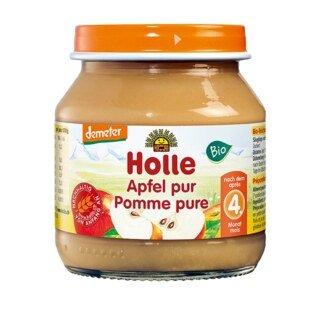 Apfel pur demeter-bio - Holle - 125 g/