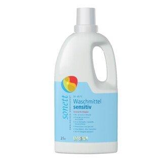 Waschmittel sensitiv flüssig 30° 60° 95°C - Sonett - 2 Liter/