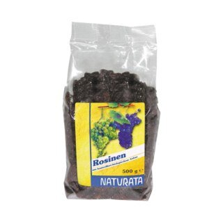 Rosinen getrocknet Bio - Naturata - 500 g/