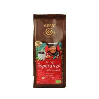 Bio Café Esperanza - mild aromatisch - 100 % Bio Arabica - GEPA - 250 g/