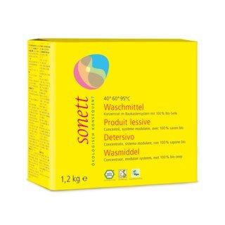 Waschmittel Pulver Konzentrat 40° 60° 95°C- Sonett - 1,2 kg/