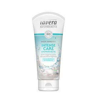 Lavera Basis Sensitiv Intense Care Cremedusche - 200 ml/