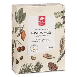Nastjas Müsli angekeimte Saaten bio - Taiga - 400 g