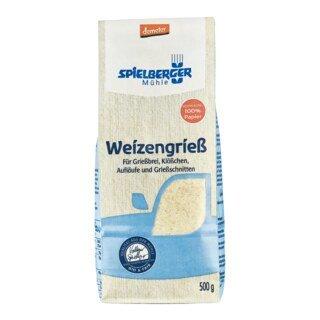 Weizengrieß demeter - Spielberger Mühle - 500 g