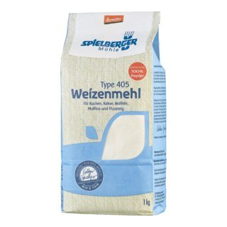 Weizenmehl 405 demeter - Spielberger Mühle - 1 kg
