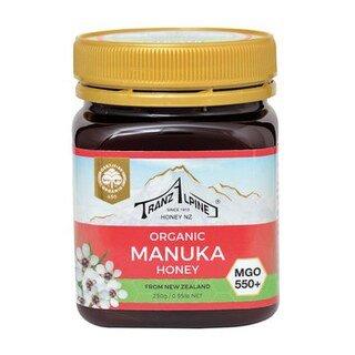 Organic Manuka Honig MGO 550+ - Tranz Alpine - 250 g/