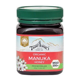 Organic Manuka Honig - MGO 250+ - Tranz Alpine - 250 g/