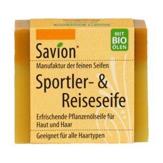 Sportler- & Reiseseife - für Haar- und Körperwäsche - Savion - 85 g