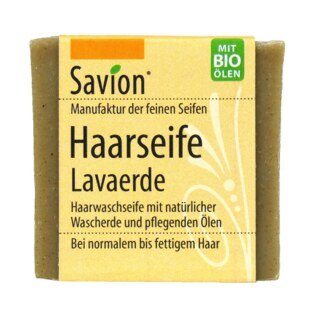 Haarseife Lavaerde - Savion - 85 g