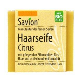 Haarseife Citrus - Savion - 85 g/