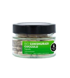 Gokshuradi Guggulu Kapseln Bio - 80 Kapseln/