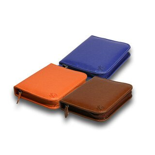 48 - Remedy case in artificial leather with pattern/
