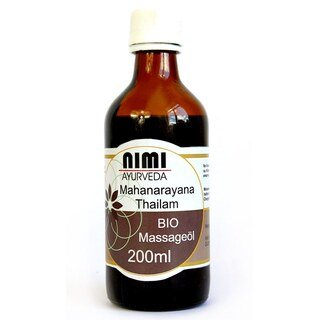 Mahanarayana Massageöl Bio - Nimi - 200 ml/