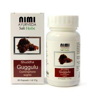Shuddha Guggulu - Nimi - 60 Kapseln - 31 g/