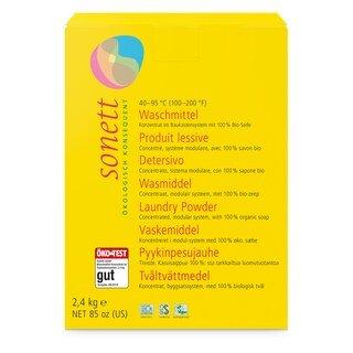 Waschmittel Pulver 40 - 95 ° C - Sonett - 2,4 kg/