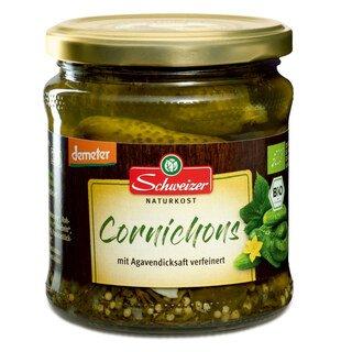Cornichons Bio Demeter - Schweizer Naturkost - 330 g