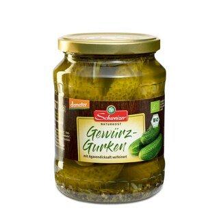 Gewürz-Gurken Bio Demeter - Schweizer Naturkost - 670 g/