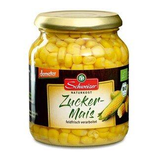 Zucker-Mais Bio Demeter - Schweizer Naturkost - 340 g/