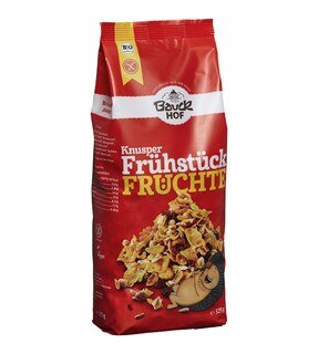 Knusper Frühstück Früchte Müsli Bio - Bauck Hof - 325 g