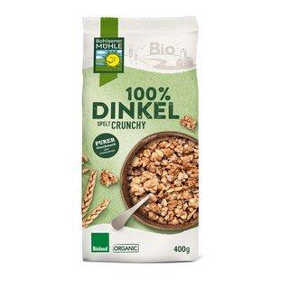 100 % Dinkel Spelt Crunchy Bio - Bohlsener Muehle - 400 g/