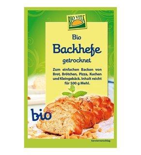 Backhefe Bio - Bio Vita - 9 g/