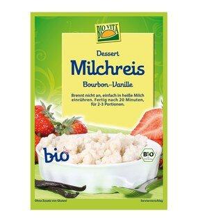 Milchreis Bourbon-Vanille Bio - BioVita - 115 g/