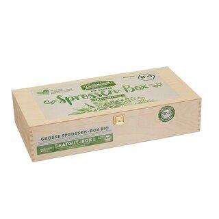 Saatgut-Box L - die große Sprossen-Box Bio - Saatgut Dillmann