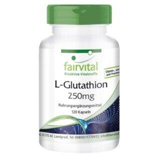 L-Glutathion 250 mg - 120 Kapseln/