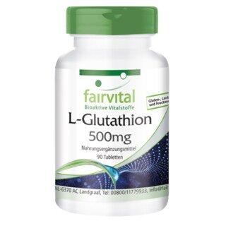 L-Glutathion 500 mg - 90 Tabletten/
