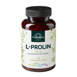 L-Prolin Kapseln - 120 Kapseln - von Unimedica
