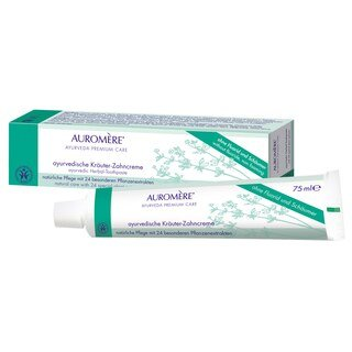 Auromère® Kräuter-Zahncreme - apeiron - 75 ml/