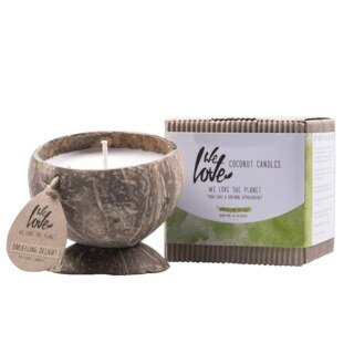 We Love the Planet - Cococnut Candle - Darjeeling Delight/