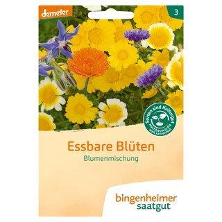 Essbare Blüten Blumenmischung - demeter-bio - bingenheimer saatgut/