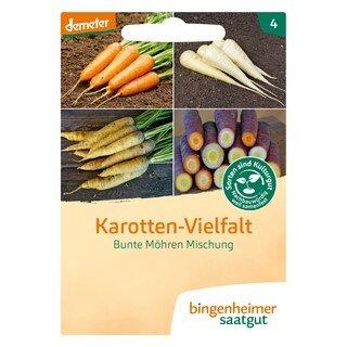 Karotten-Vielfalt - demeter-bio - bingenheimer saatgut