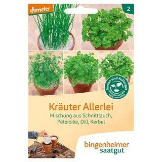 Kräuter Allerlei - demeter-bio - bingenheimer saatgut