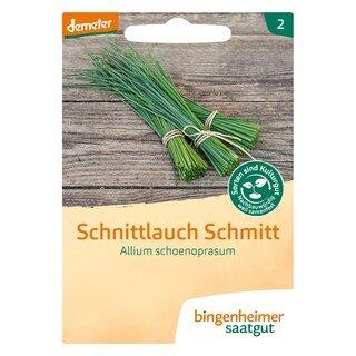 Schnittlauch Schmitt - demeter-bio - bingenheimer saatgut/