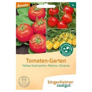 Tomaten-Garten - demeter-bio - bingenheimer saatgut
