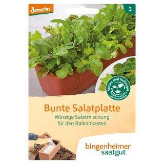 Bunte Salatplatte - demeter-bio - bingenheimer saatgut