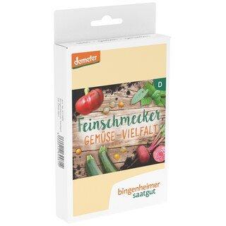 Feinschmecker Gemüse-Vielfalt - demeter-bio - bingenheimer saatgut