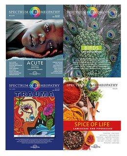 Set - Spectrum of Homeopathy - Acute, Spice of Life, Birds, Trauma/Narayana Verlag