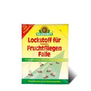 Lockstoff für Permanent Fruchtfliegen Falle - Neudorff - 30 ml/
